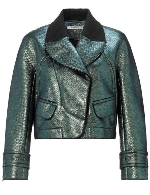 Wish List: Carven Metallic Bomber Jacket