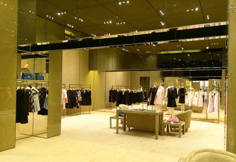 573f6c782612 The luxury section  consequently where I can spend countless of hours  wandering through Prada