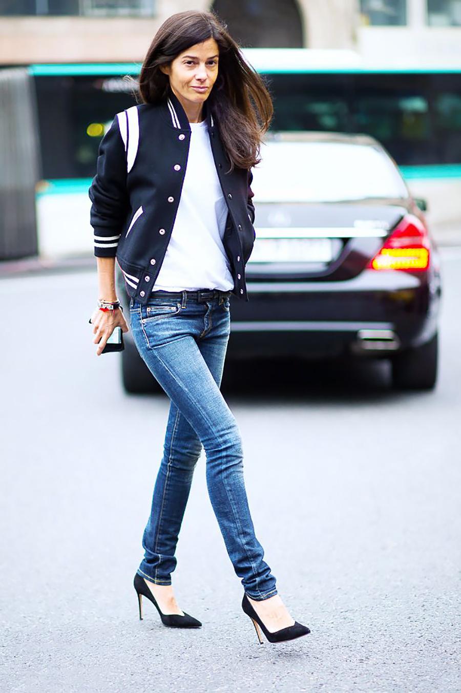 Womens Black Skinny Jeans