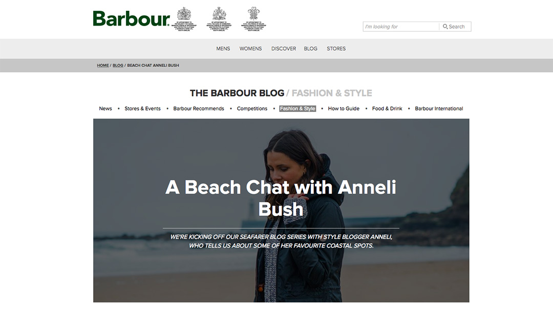 Barbour copy
