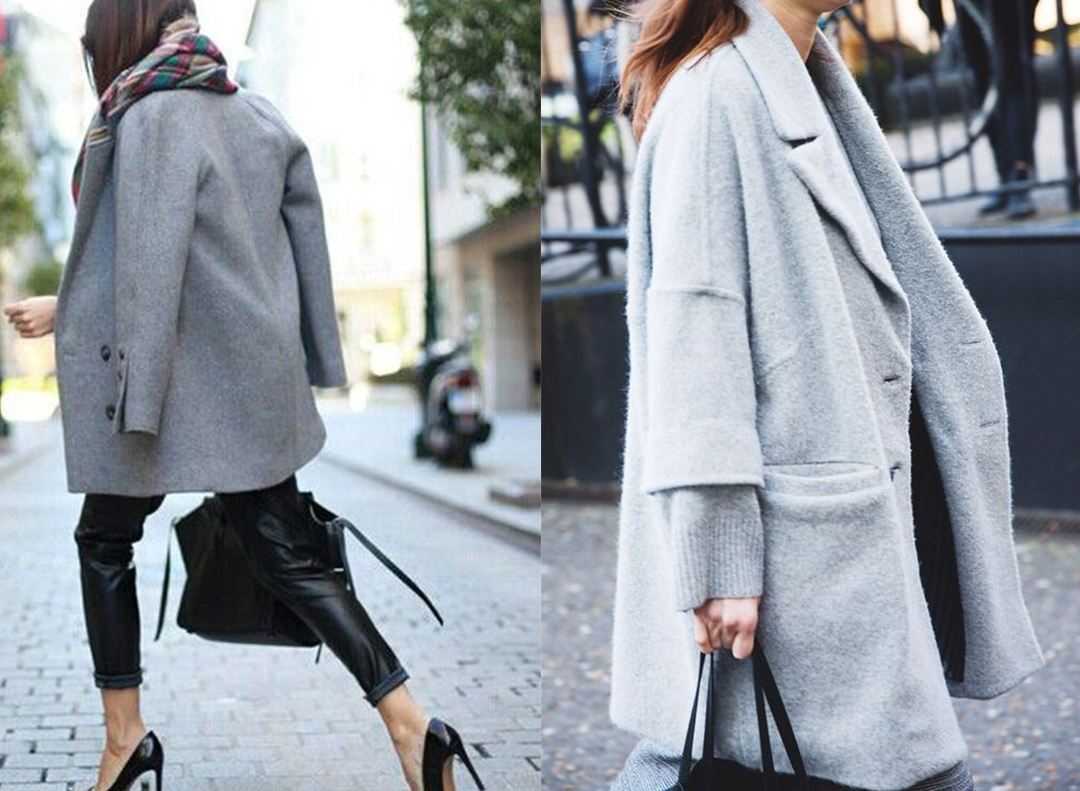 3 WAYS TO STYLE: THE CLASSIC GREY CROPPED COAT