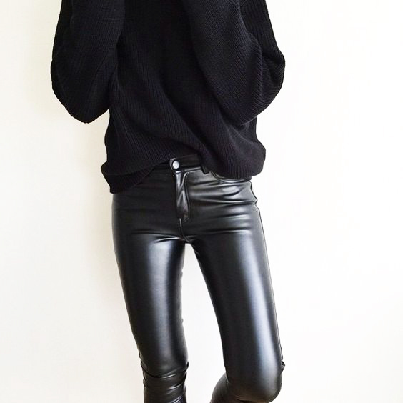 3 WAYS TO STYLE: THE SKINNY LEATHER PANTS