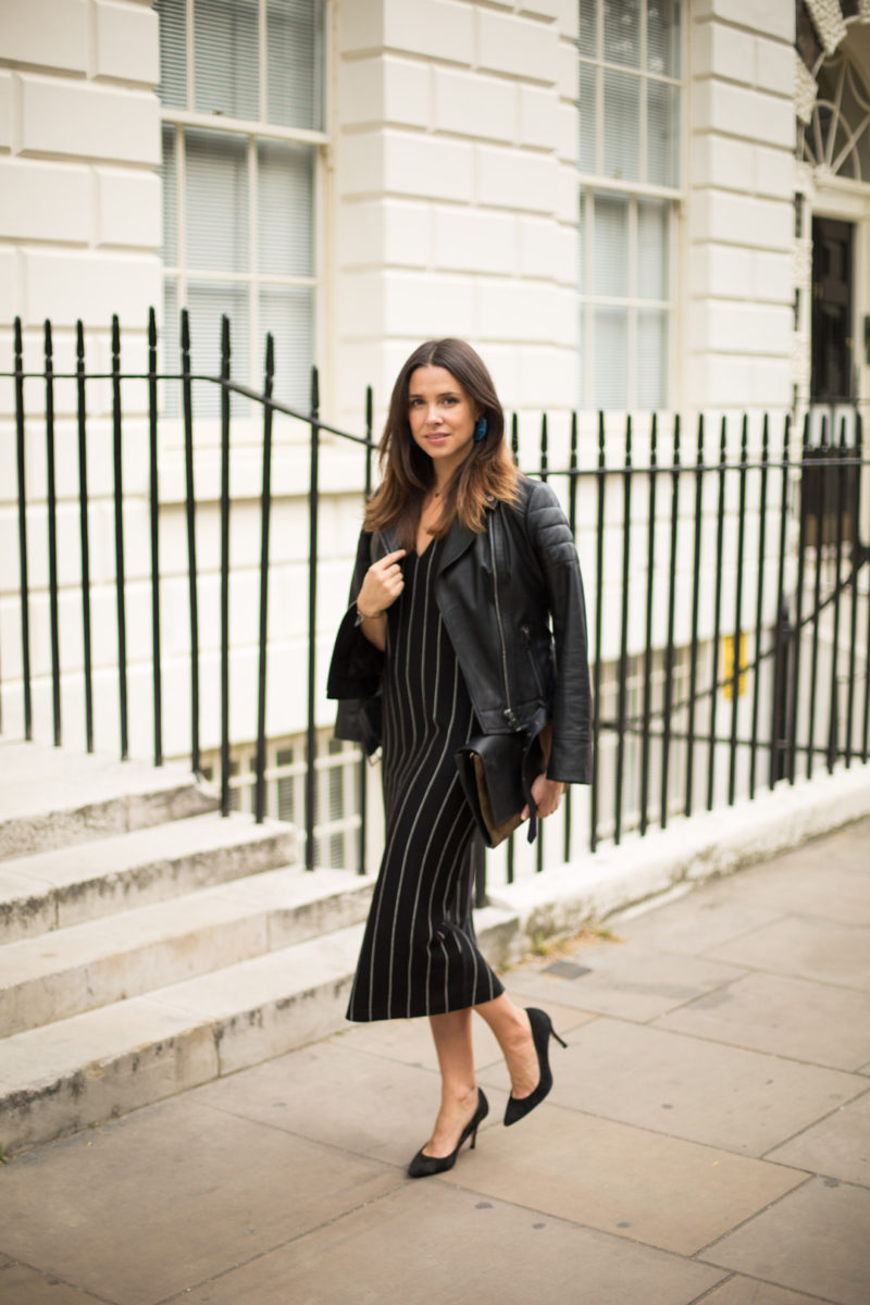 3 WAYS TO STYLE THE LEATHER BIKER JACKET WITH JAEGER