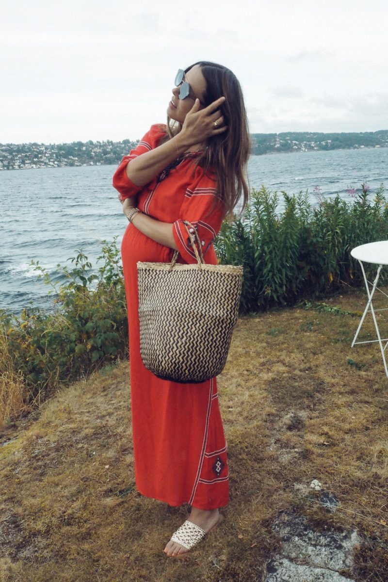DRESSING THE BUMP #3 | SUMMER BOHO